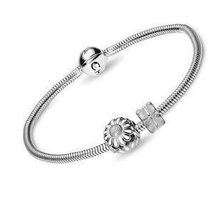 Christina Watches silber armband mit Silber daisy
