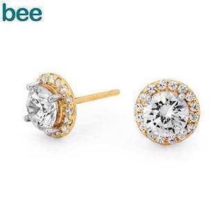 Bee Jewelry Ohrring, model 55557-CZ
