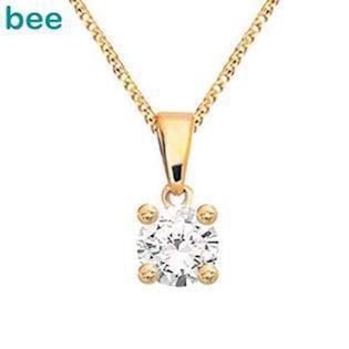Bee Jewelry Solitaire 0,05 ct H-SI Anhänger, model 60985_A05