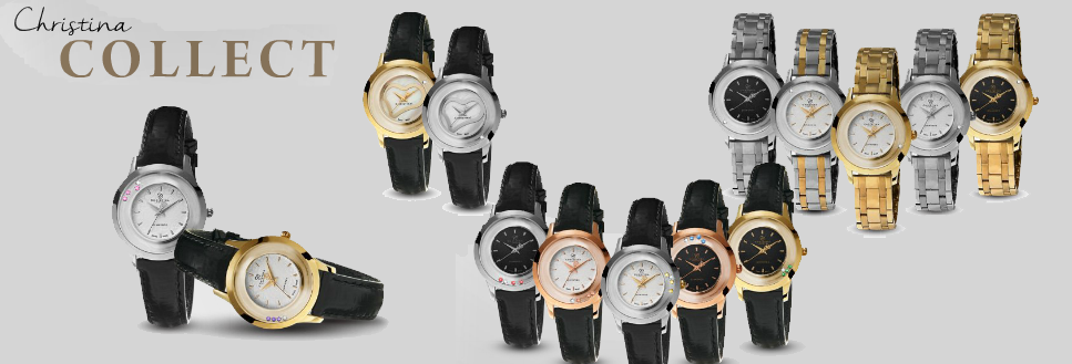 Christina collect watches buy them here at Your Watch and Jewelry shop