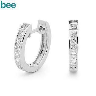 Bee Jewelry Ohrring, model 35508/cz