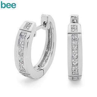 Bee Jewelry Ohrring, model 35509/cz