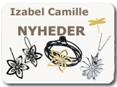 Latest new jewellery from Izabel Camille at Guldsmykket.dk